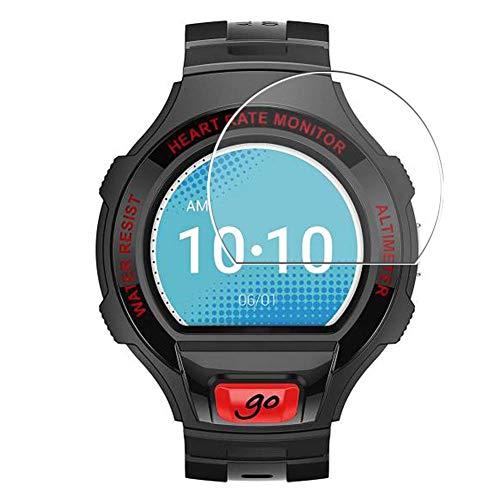 Vaxson 3 Stück Schutzfolie, kompatibel mit Alcatel One Touch Go Watch, Bildschirmschutzfolie TPU Folie [nicht Panzerglas] Neue Version