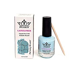 commercial PUEEN NEW Latex-free liquid tape, peeling cuticle protection skin protection nail art latex… liquid tape nails
