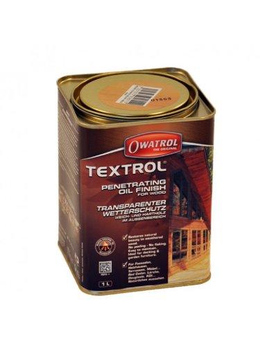 Owatrol TEXTROL farbloses Naturöl zur Schutzimprägnierung der Teakholzteile Ihres Strandkorbes Grundpreis: 23,00 € / 1l