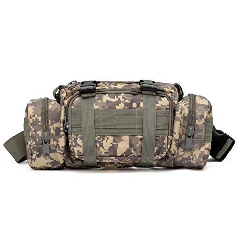 OASIS LAND Outdoor Waist Bag Waterproof Nylon Camping Hiking Backpack Pouch Hand Bag-Desertdigital-OneSize