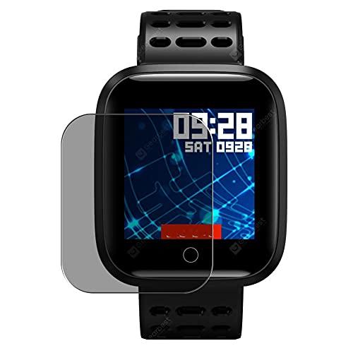 Vaxson Anti Spy Schutzfolie, kompatibel mit Lenovo E1 Smartwatch smart watch, Displayschutzfolie Privatsphäre Schützen [nicht Panzerglas]