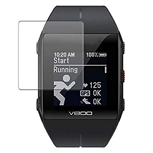 Vaxson 3 Stück Schutzfolie, kompatibel mit Polar V800 Smartwatch Hybrid Watch, Bildschirmschutzfolie TPU Folie Displayschutz [nicht Panzerglas Hülle Hülle ]