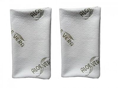 Doble pack de aloe vera almohada–antialérgico, por 40x 80cm