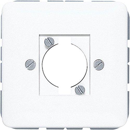 Jung CD568-1WW Abdeckung für Lautsprecher-Steckverbinder
