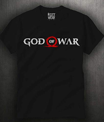 GOD OF WAR KRATOS PLAYERA ROTT WEAR
