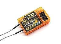 no2 OrangeRx GR400F Futaba FASST 4Ch 2.4GHz 受信機