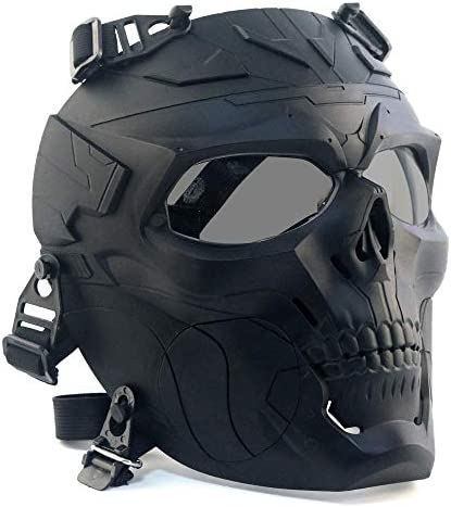 Paintball Mask Airsoft Tactical Protective Mask With PC Lens Eye Protection Adjustable Strap product image