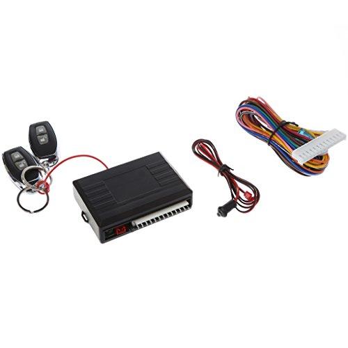 COLUDOR Universal-Auto-Tür-Verriegelungssystem, schlüsselloses Einstiegssystem, Fernbedienung, Zentral-Kit