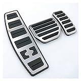 binbin Accesorio de coche para Land Range Rover Sport/Discovery 3 4 LR3 LR4 Gas Acelerador Reposapiés modificado Pedal Pad Refit Sticker (Nombre del color: juego completo)
