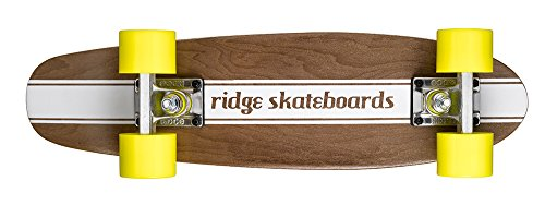 Ridge Skateboards Maple Mini Cruiser- NR4 Skateboard, Giallo