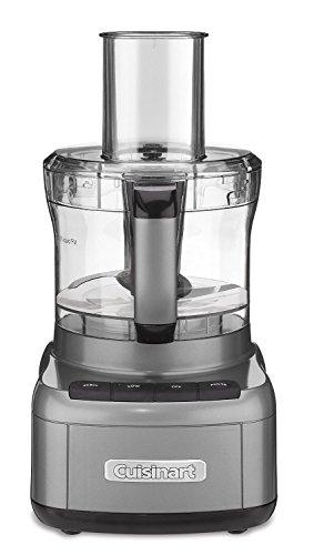 Cuisinart FP-8GM Elemental 8 Cup Food Processor, Gunmetal (Renewed)