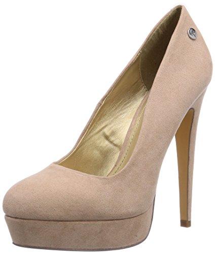 Blink BL 548, Chaussures à Talons avec Plateau Femme - Beige - Beige (nude98), Taille 40 EU
