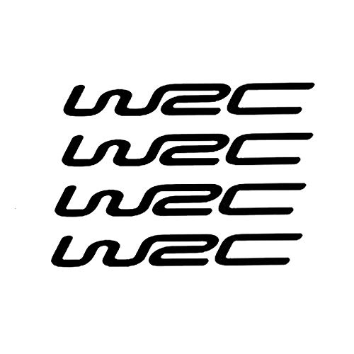 2 piezas, caja de seguro de calcomanía divertida para auto, calcomanía de vinilo para parachoques de ventana de coche, World Cross Country Rally Wrc modificado, para parabrisas de camiones, para coche
