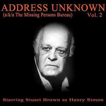 Address Unknown, Vol. 2