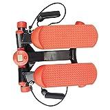 Stepper con cintura di allenamento/dispositivo passo-passo con resistenza regolabile e console wireless - passo passo piccolo e compatto per principianti e utenti esperti