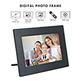 Xech Digital Photo Frame 7 inch with Remote Plays Photos, Slide Show, Video, Audio,Calender,Alarm has Resolution 1024x600 & Ratio 16:9 Supports SD Card, Pen Drive (USB), 3.5MM AUX (Black)
