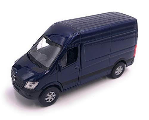 H-Customs Mercedes Benz Sprinter Modellauto Auto Lizenzprodukt 1:34-1:39 Blau