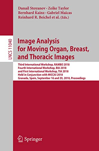 Image Analysis for Moving Organ, Breast, and Thoracic Images: Third International Workshop, RAMBO 20