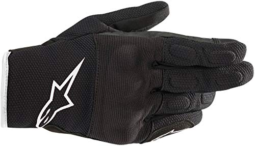 Alpinestars Motorradhandschuhe Stella S Max Drystar Gloves Black White, BLACK/WHITE, L