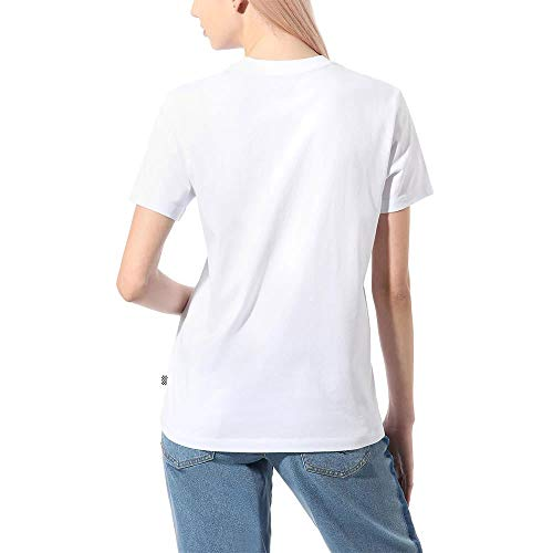 Vans Kaye BF T-Shirt, Bianco, M Donna