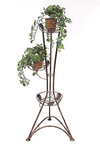 Flower rack-LU HJ515 Metalen plantenrek, voor binnen en buiten, voor tuin, terras