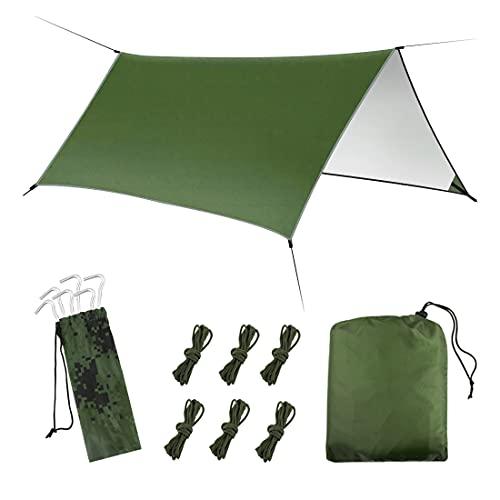 Hammock Rain Fly Tent Tarp - Lively Life Multifunctional Lightweight...