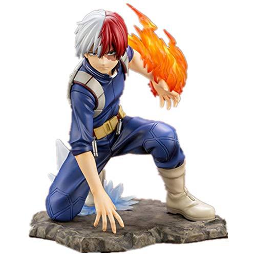 Mi Héroe Academia Bakugou Izuku Todoroki Shoto PVC Figura De Acción Juguetes Boku No Hero Academia Anime Figura De Juguete 16Cm
