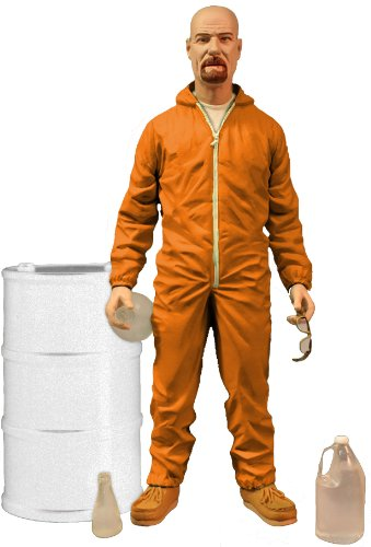 Mezco Breaking Bad - Walter White Orange Hazmat Suit Fig
