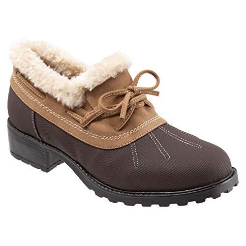 Trotters Women's Belle Boot Dk BRN Chestnut 7.5 W