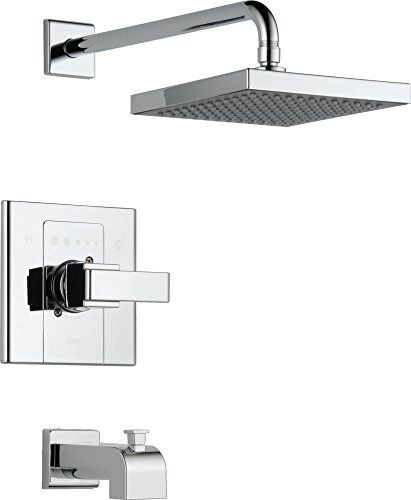 Delta Faucet T14486-SHQ Arzo, Monitor 14 Series Tub and Shower Trim, Chrome