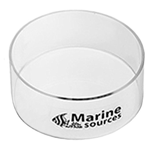 Coral Viewer Fish Tank Acrylic Coral Observe Lense Aquarium Fish Photograph Cylinder Magnifier for Viewing Coral and Taking Pictures 150mm