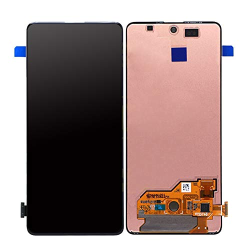 TheCoolCube LCD Display Touch Screen Digitizer Assembly Replacement Compatible with Samsung Galaxy A51 A515F 6.5 inch (Black)