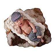 Soft, comfortable and fully handmade baby photography props costumes available in various adorable styles. These baby photography props best fit newborns and babies 0 -12 months. They might also fit older babies (up to 24 month) depending on the baby...