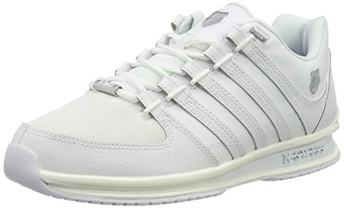 K-Swiss Herren Rinzler SP Sneaker, Weiß (White/White/Gull Gray 183), 42 EU