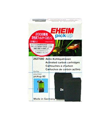 エーハイム 活性炭フィルタースポンジ 2008用 2個入