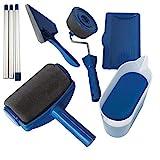 SLS SHOP Rullo Pittura con Serbatoio Anti Gocciolamento Ricaricabile E Manico Allungabile