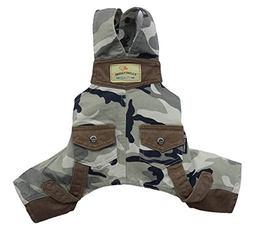 Doggydolly 'Hunde-Jogginganzug' Einzigartige Camouflage Overalls