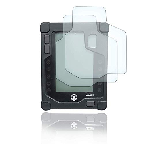 [2 Stück] Displayschutzfolie Tacho Schutzfolie geeignet für Yamaha Tenere 700 2x Ultra Clear