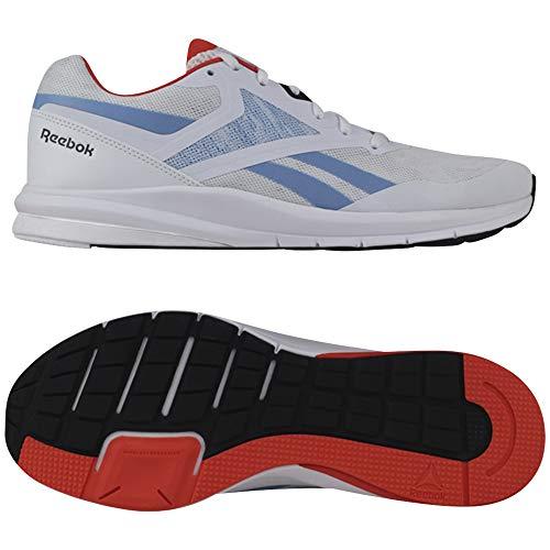 Reebok Runner 4.0, Zapatillas para Hombre, Multicolor (Blanco/VIVDOR/FLUBLU)