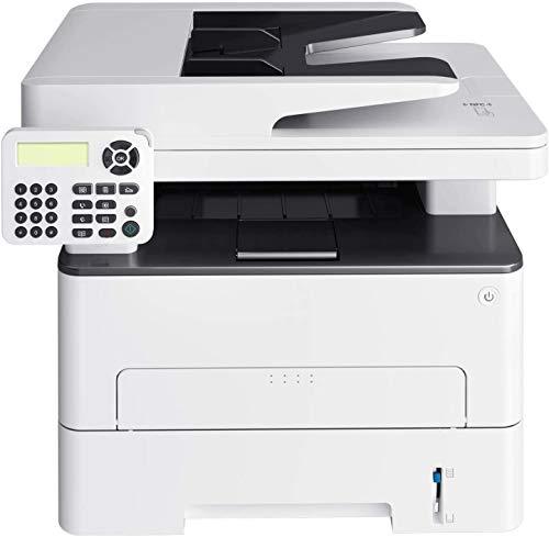 RSTJVB Todo en una Impresora láser inalámbrica monocromática, fax de la copiadora de escáner y impresión dúplex para Imprimir, copiar, escanear, fax.