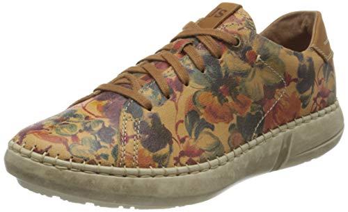 Josef Seibel Damen Louisa 03 Sneaker, Camel-Kombi, 41 EU