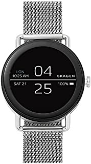 Skagen Connected Falster Watch with Stainless Steel Strap, Silver, 20: ((Model: SKT5000))