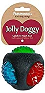Rosewood Jolly Doggy Catch and Flash Ball for Dogs, clear