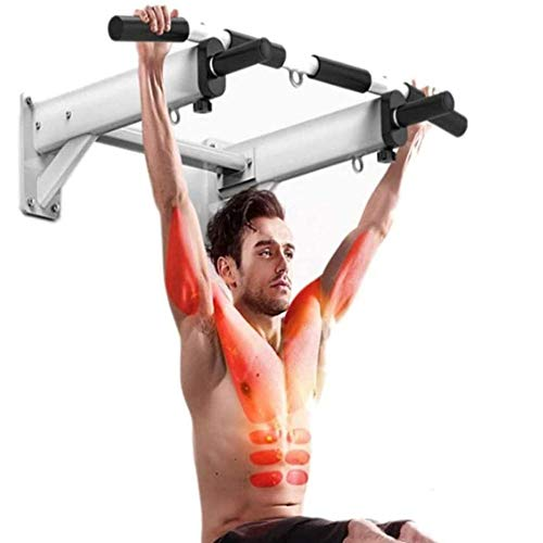 N\A ZT Soporte de Pared Pull-Up Bar Multi-Grip-Up Chin estación con Perchas for Sacos, Power Cuerdas for Gimnasia casera Fuerza Equipo de formación, 600kg