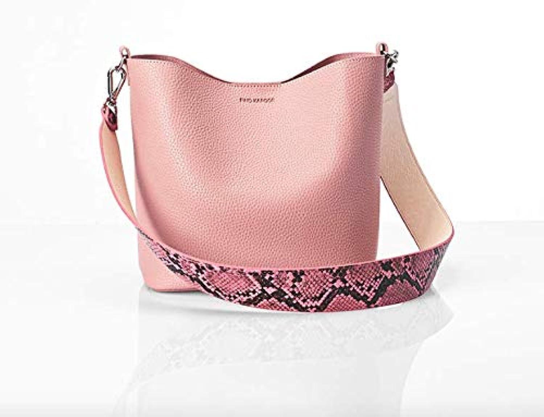 FINDKAPOOR PINGO BAG; PINK (HAND STRAP+ SHOULDER STRAP); TOP Korea star bag