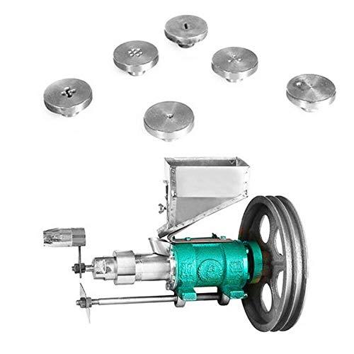Máquina de soplado de alimentos multifuncional eléctrica 7 moldes Máquina de extrusión...
