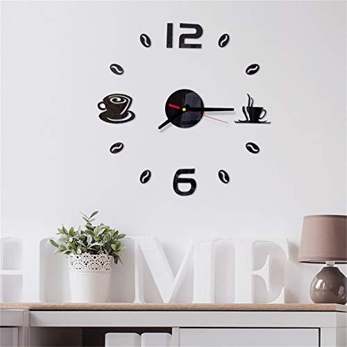 VIOYO Reloj de Pared Digital Pegatina diseño Moderno Reloj DIY Reloj Pared...