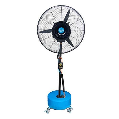 XYSQWZ Acondicionadores De Aire Ventilador De Atomización En Aerosol Ventilador Humidificación Industrial Nebulización De Agua Ventilador Eléctrico Enfriamiento Ventilador Industrial (tamaño: 65 Cm)