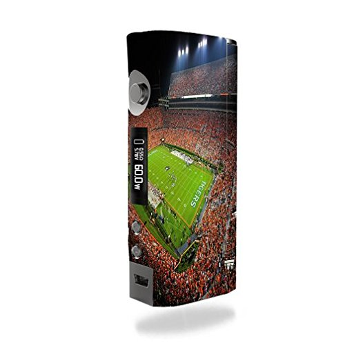 Kanger KBOX Mini Vape E-Cig Mod Box Vinyl DECAL STICKER Skin Wrap / College Football Stadiums
