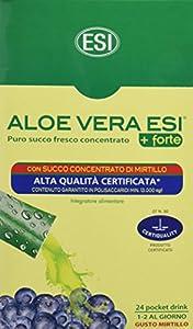 ESI Aloe Vera Zumo +Forte Mirtilo - 24 Unidades